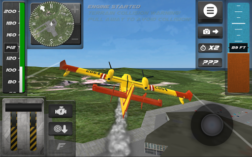Airplane Flight Simulator 2017 1.07 screenshots 4