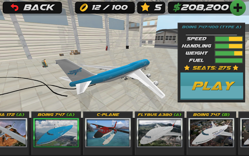 Airplane Flight Simulator 2017 1.07 screenshots 5