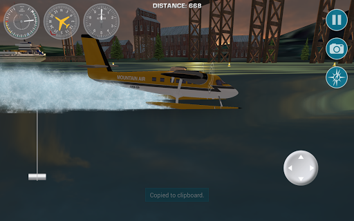 Airplane Fly Bush Pilot 1.0 screenshots 10