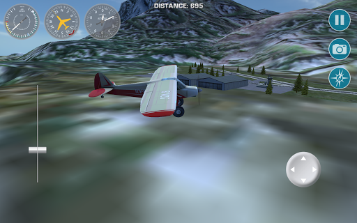 Airplane Fly Bush Pilot 1.0 screenshots 9