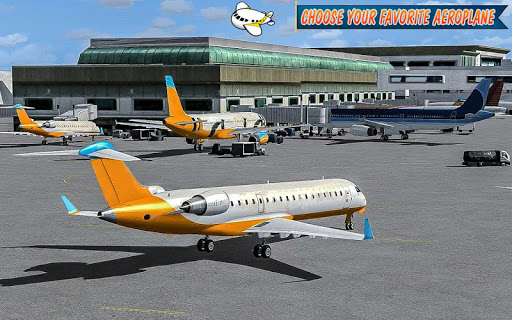 Airplane Simulator 2017 Driver 1.0 screenshots 3