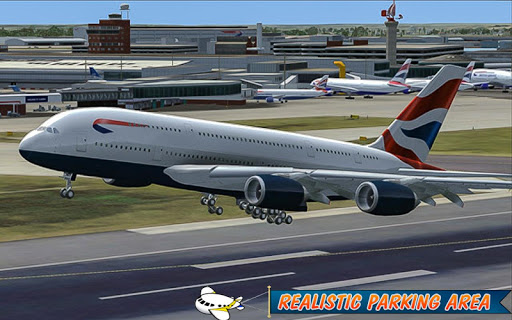 Airplane Simulator 2017 Driver 1.0 screenshots 4