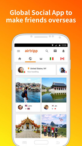 AirtrippFree Foreign Chat 7.4.9 screenshots 1