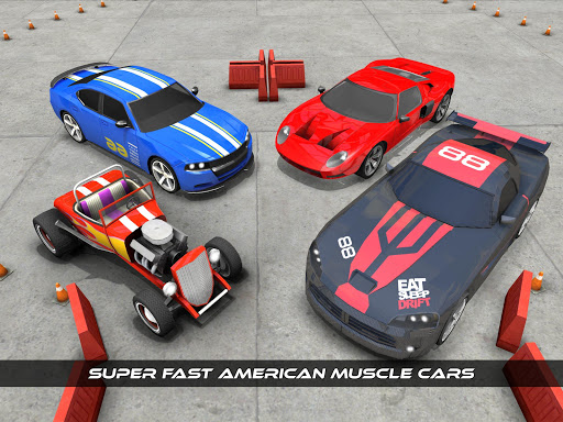 American Muscle Car Game Driving School 2017 1.0 screenshots 15