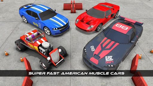 American Muscle Car Game Driving School 2017 1.0 screenshots 23