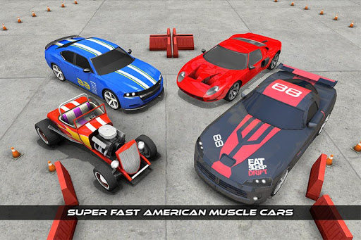 American Muscle Car Game Driving School 2017 1.0 screenshots 7