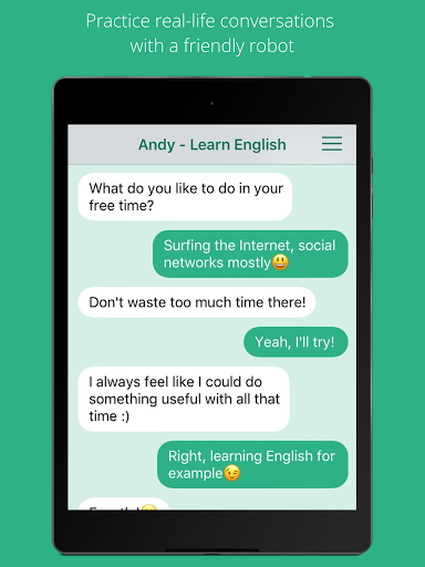 Andy – English Speaking Bot screenshots 4