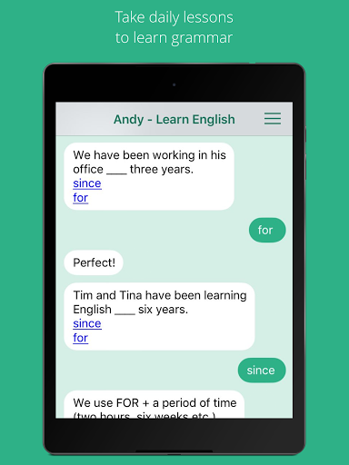 Andy – English Speaking Bot screenshots 5