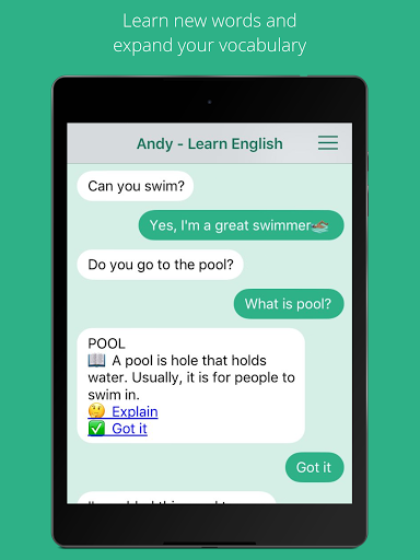 Andy – English Speaking Bot screenshots 6