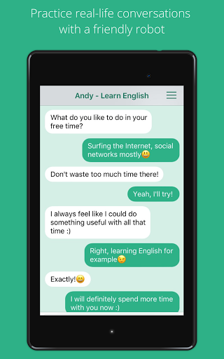Andy – English Speaking Bot screenshots 7