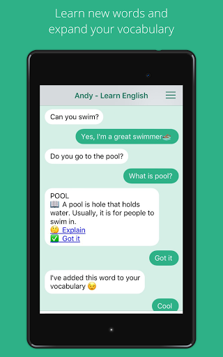 Andy – English Speaking Bot screenshots 9
