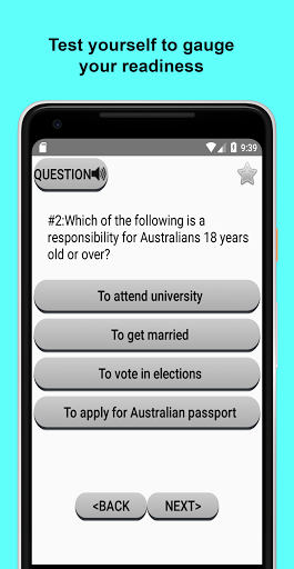Australian Citizenship Test 2018 1.04 screenshots 2