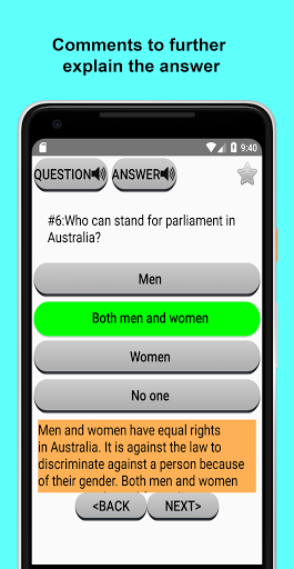 Australian Citizenship Test 2018 1.04 screenshots 4
