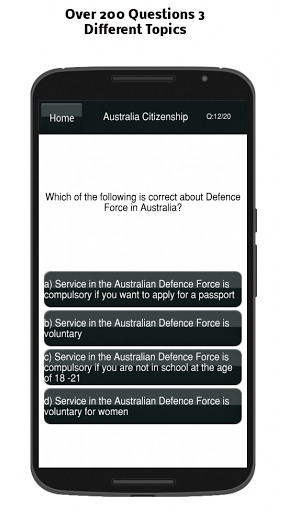 Australian Citizenship Test 9.0 screenshots 12