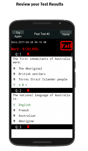Australian Citizenship Test 9.0 screenshots 5