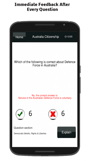 Australian Citizenship Test 9.0 screenshots 8
