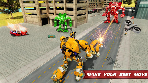 Autobots Robot Car War screenshots 11