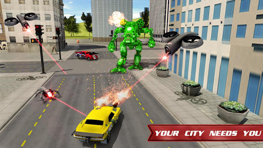 Autobots Robot Car War screenshots 4