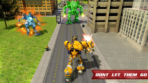 Autobots Robot Car War screenshots 8