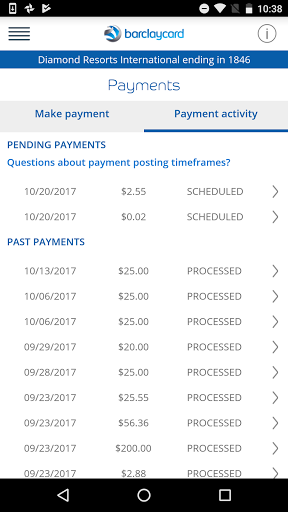 Barclaycard for Android 6.25.35754 screenshots 7
