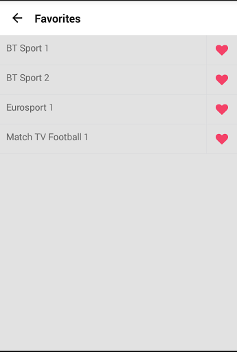 Bive TV – Channel List Free amp P2P TV 1.16 screenshots 3