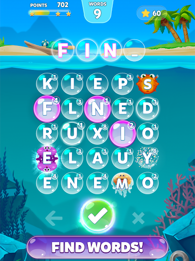 Bubble Words – Letter Search screenshots 11