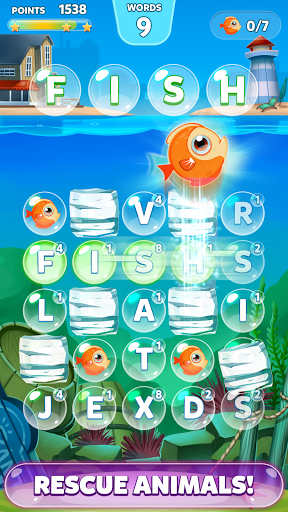 Bubble Words – Letter Search screenshots 2
