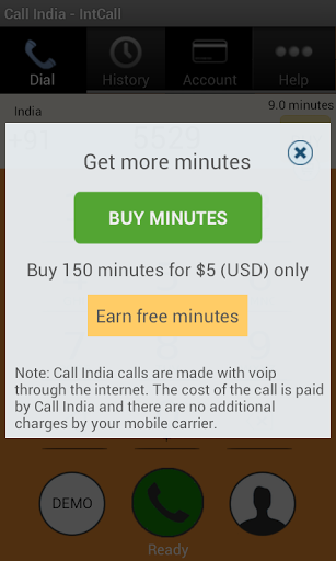 Call India – IntCall 1.2 screenshots 3