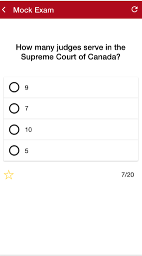 Canadian Citizenship Test 2017 1.0.2 screenshots 3