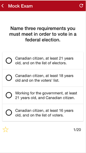 Canadian Citizenship Test 2017 1.0.2 screenshots 5