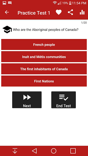 Canadian Citizenship Test 2017 6.8 screenshots 3