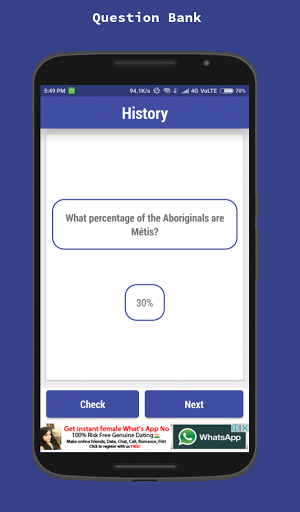 Canadian Citizenship Test 2018 1.6 screenshots 6