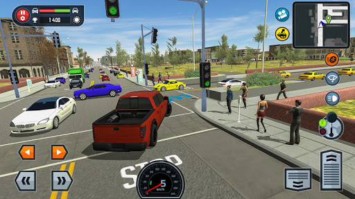 Car Driving School Simulator screenshots 20