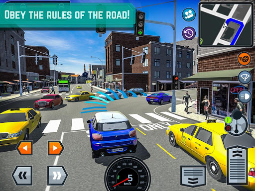 Car Driving School Simulator screenshots 8