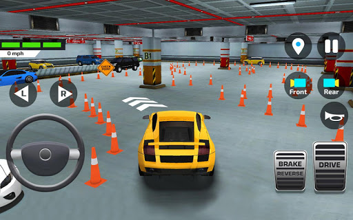 Car Driving amp Parking School screenshots 3