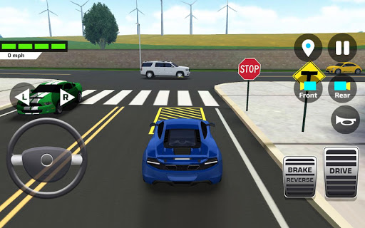 Car Driving amp Parking School screenshots 4