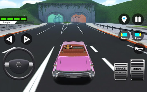 Car Driving amp Parking School screenshots 6