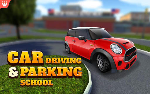 Car Driving amp Parking School screenshots 7