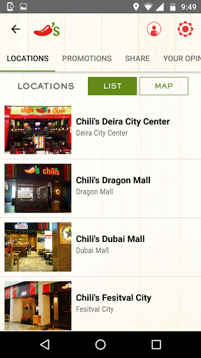 Chilis Global 1.0.3 screenshots 4