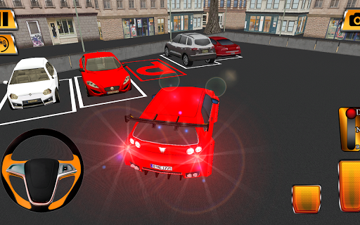 Classic Car Parking Extreme 3D screenshots 1