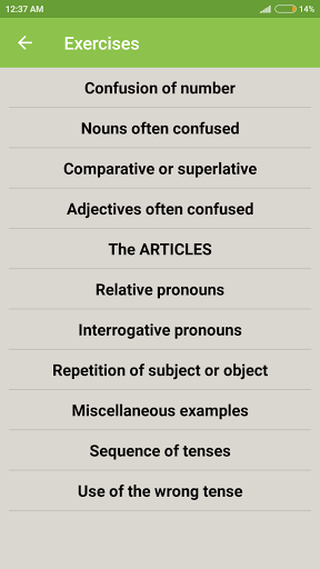 Common Mistakes in English 1.7 screenshots 5