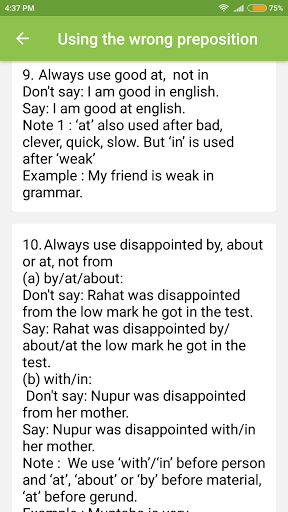 Common Mistakes in English 1.7 screenshots 7