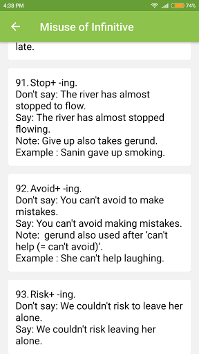 Common Mistakes in English 1.7 screenshots 8