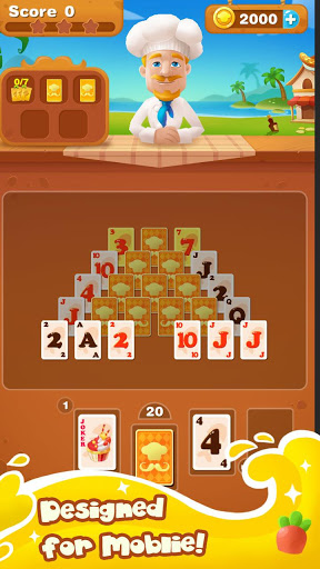 Cooking Chef Solitaire 1.2.1 screenshots 16