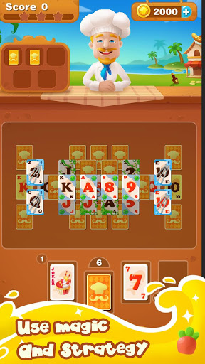 Cooking Chef Solitaire 1.2.1 screenshots 4