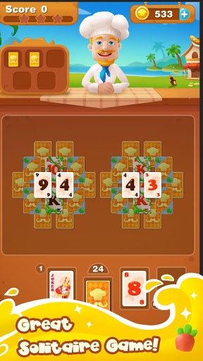 Cooking Chef Solitaire 1.2.1 screenshots 8