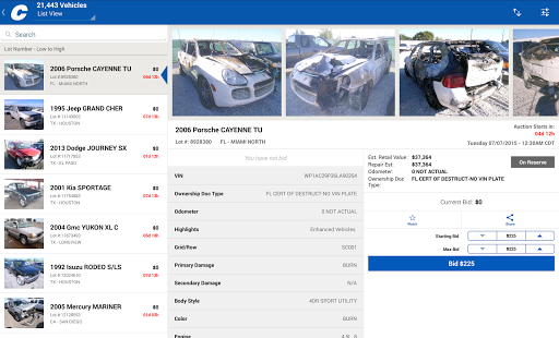 Copart Salvage Car Auctions screenshots 5