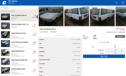 Copart Salvage Car Auctions screenshots 6