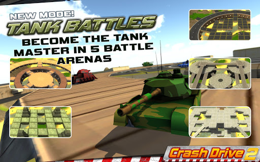 Crash Drive 2 3D racing cars screenshots 11