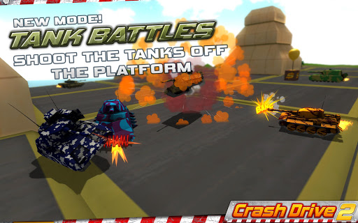 Crash Drive 2 3D racing cars screenshots 3
